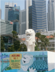 Merlion at Marina Bay, Singapore